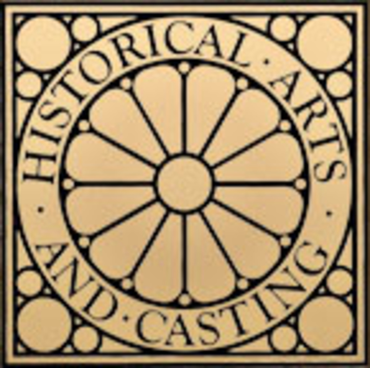 historical arts and casting logo