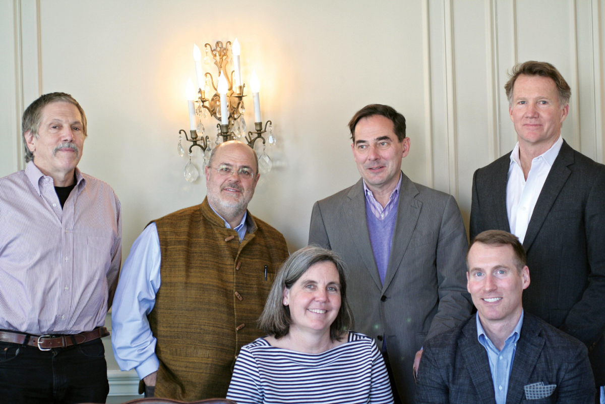 2017 Residential Jury - From left to right: Gordon Bock, Robert Baird, Katherine Flanigan, Christian Zapatka, Val Hawkins, Dale Overmyer