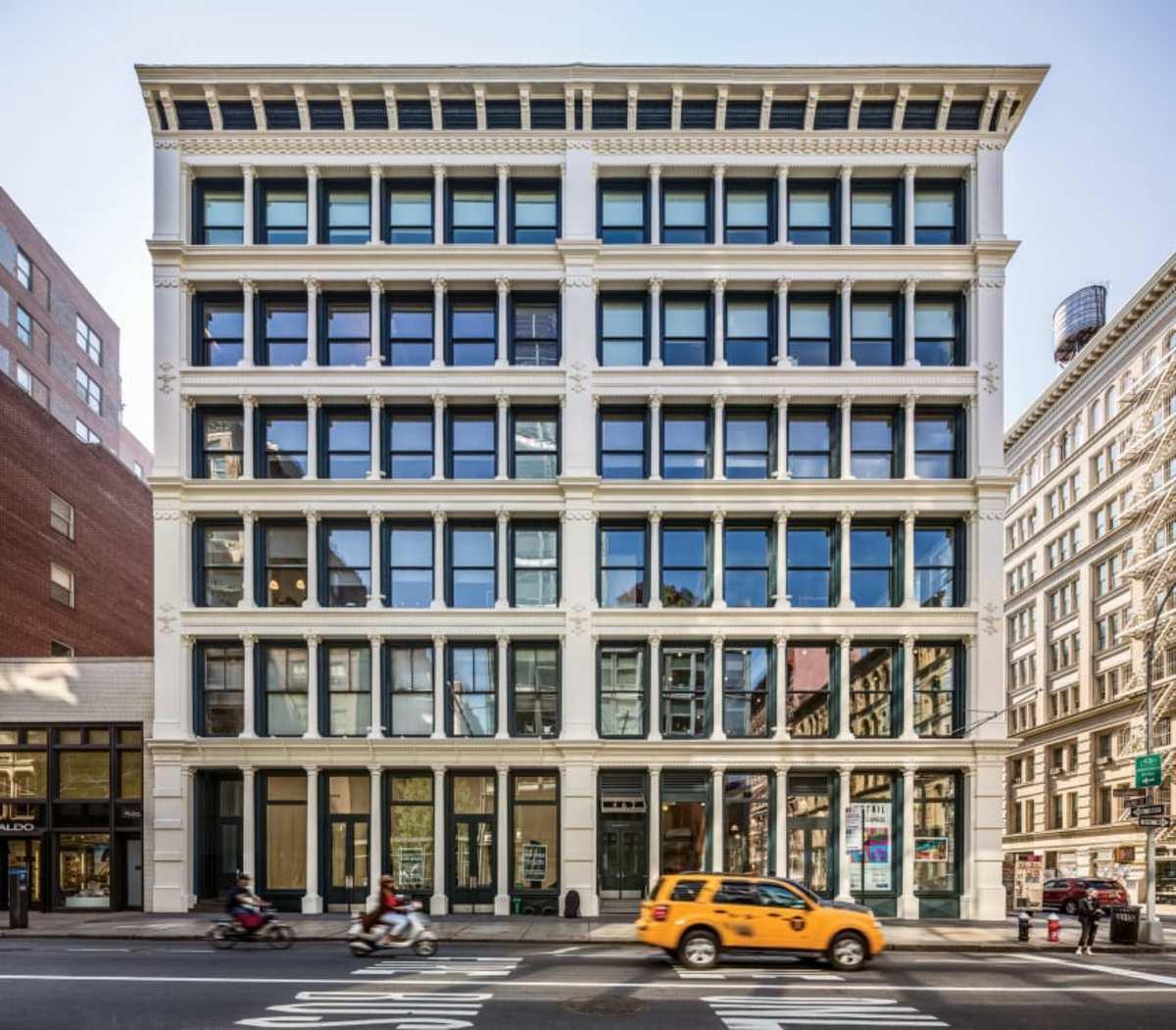"""""""It engages you at street level."""" — Sam White, FAIA, PBDW Architects (Photo: Francis Dzikowski)"""