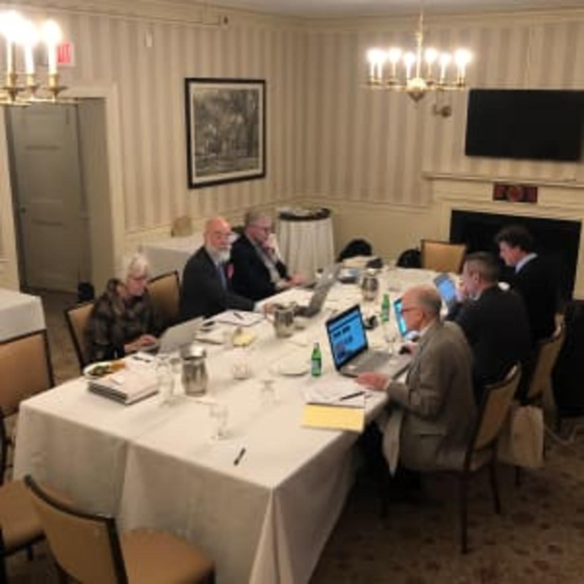 The Palladio jury hard at work.