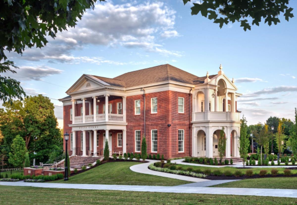 Delta Gamma Women's Fraternity House, University of Arkansas, Michael G. Imber, Architects